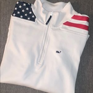 American flag Vineyard Vines Shep Shirt